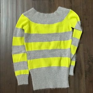 Armani exchange striped sweater size XS
